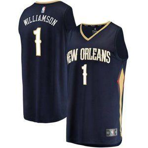 Men's Nike NBA Pelicans Zion Williamson  #1 Jersey